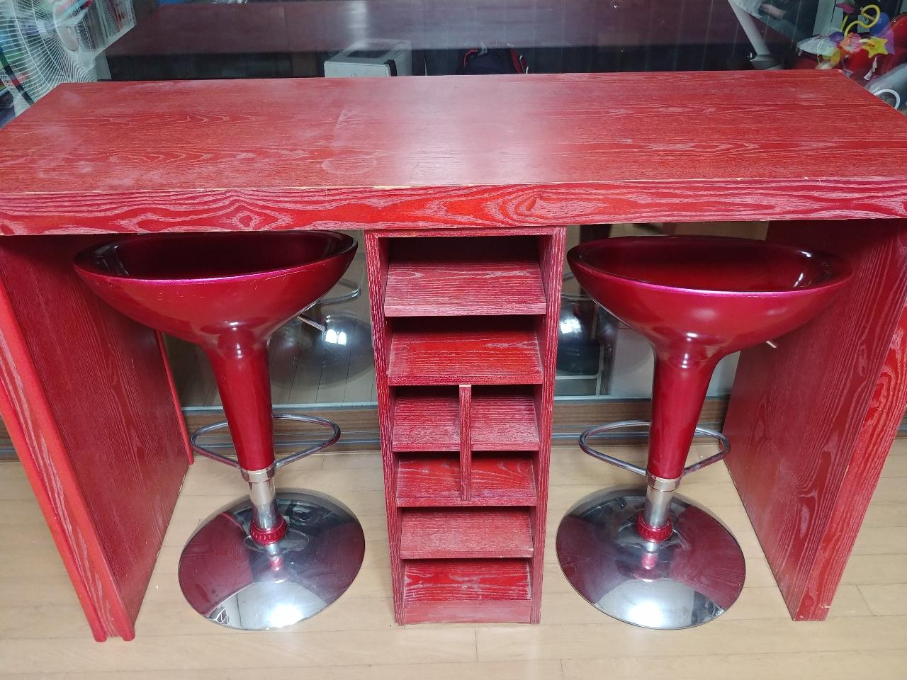홈바/홈카페 테이블(낮에 찍은 사진추가)
