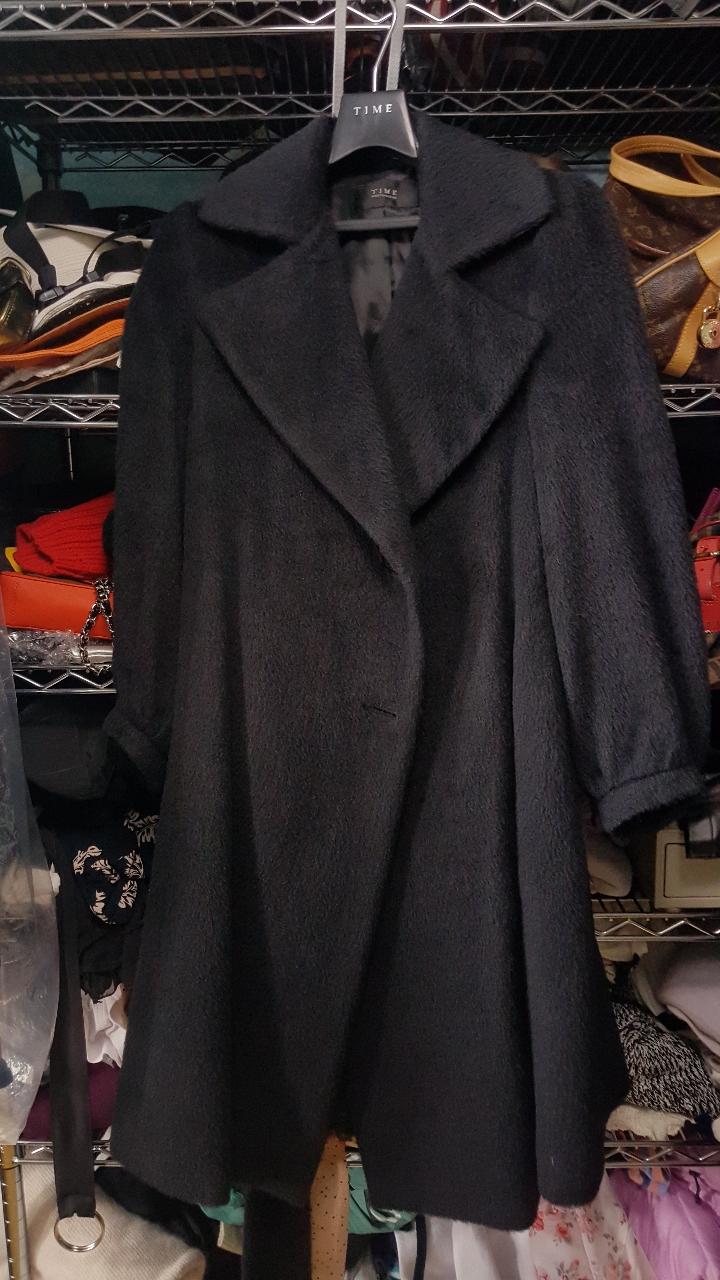 한섬 타임 수리알파카 코트 판매해요