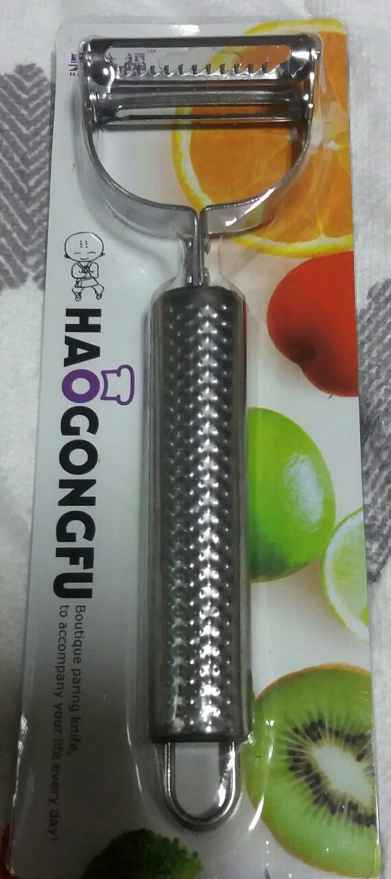 새제품)100%스텐레스 양면 야채칼,과일칼 위생적이고,튼튼해요