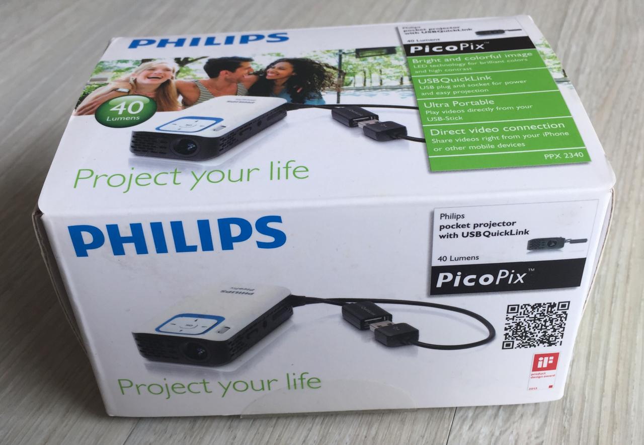 필립스 미니프로젝터(picopix)