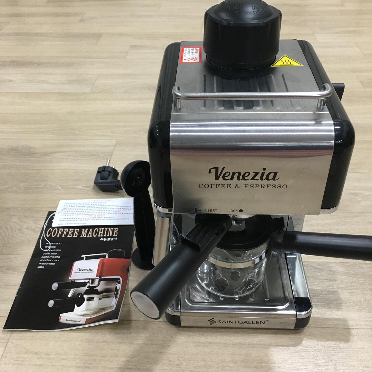 세인트갈렌 베네치아 에스프레소 커피머신