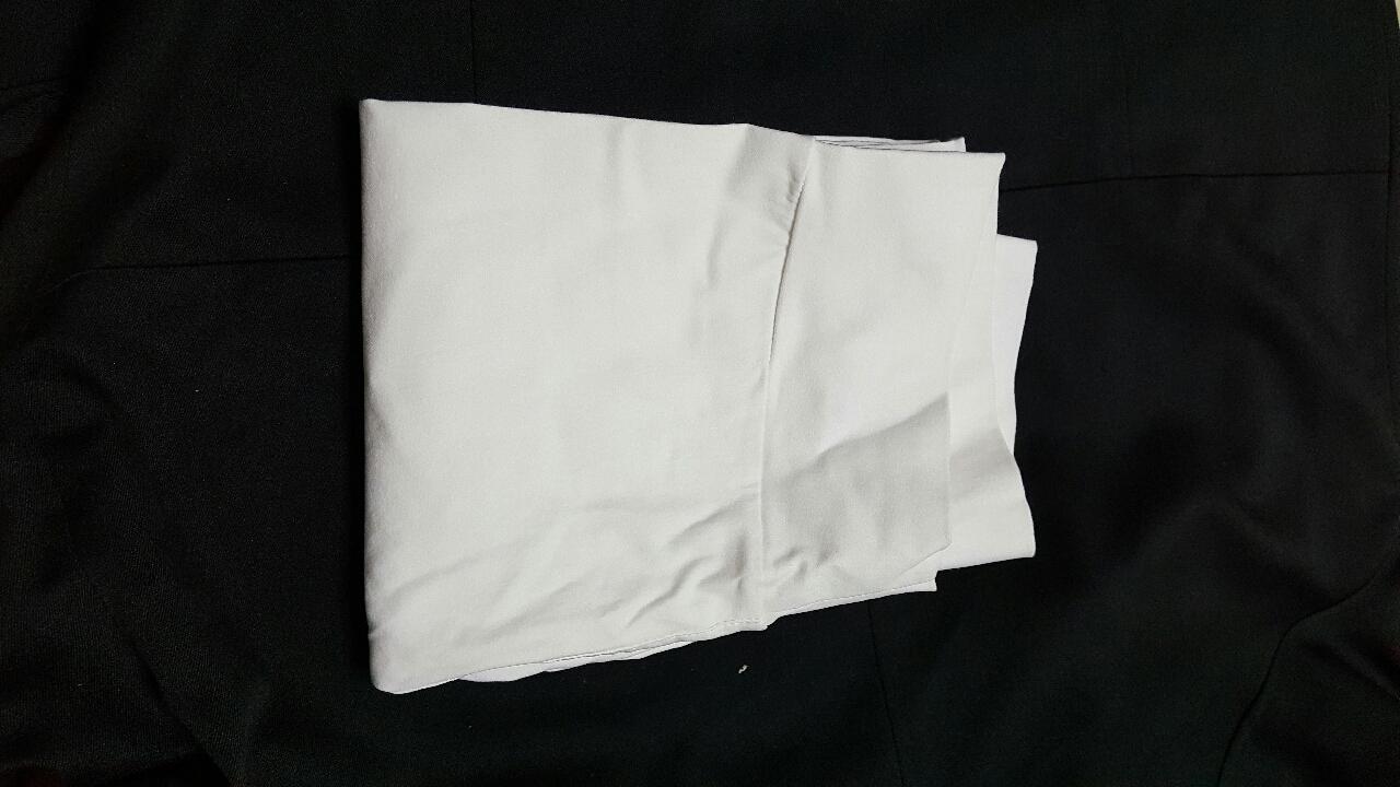 흰바지 완전 스판 얇음