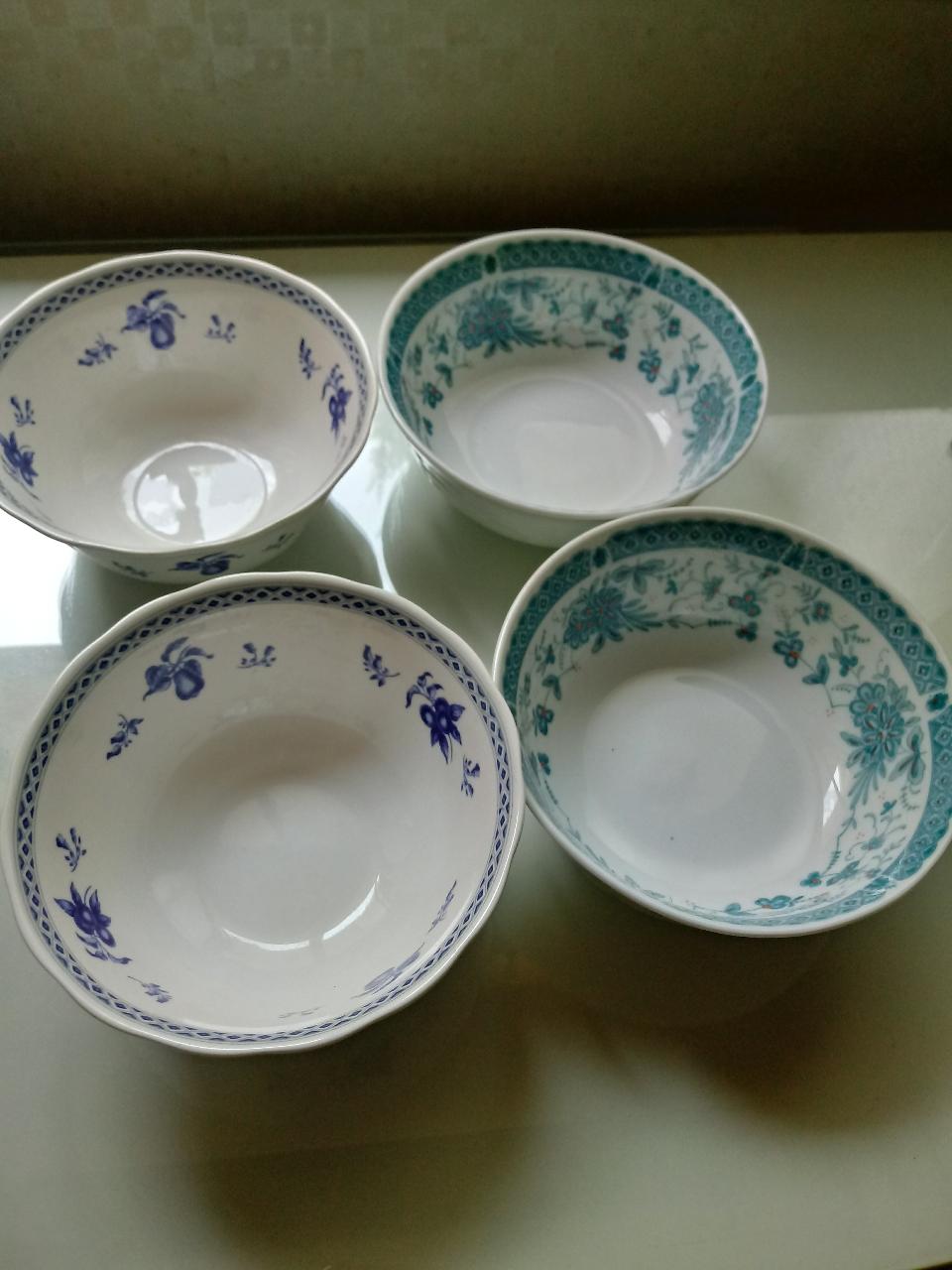 냉면그릇 4개 (새제품)