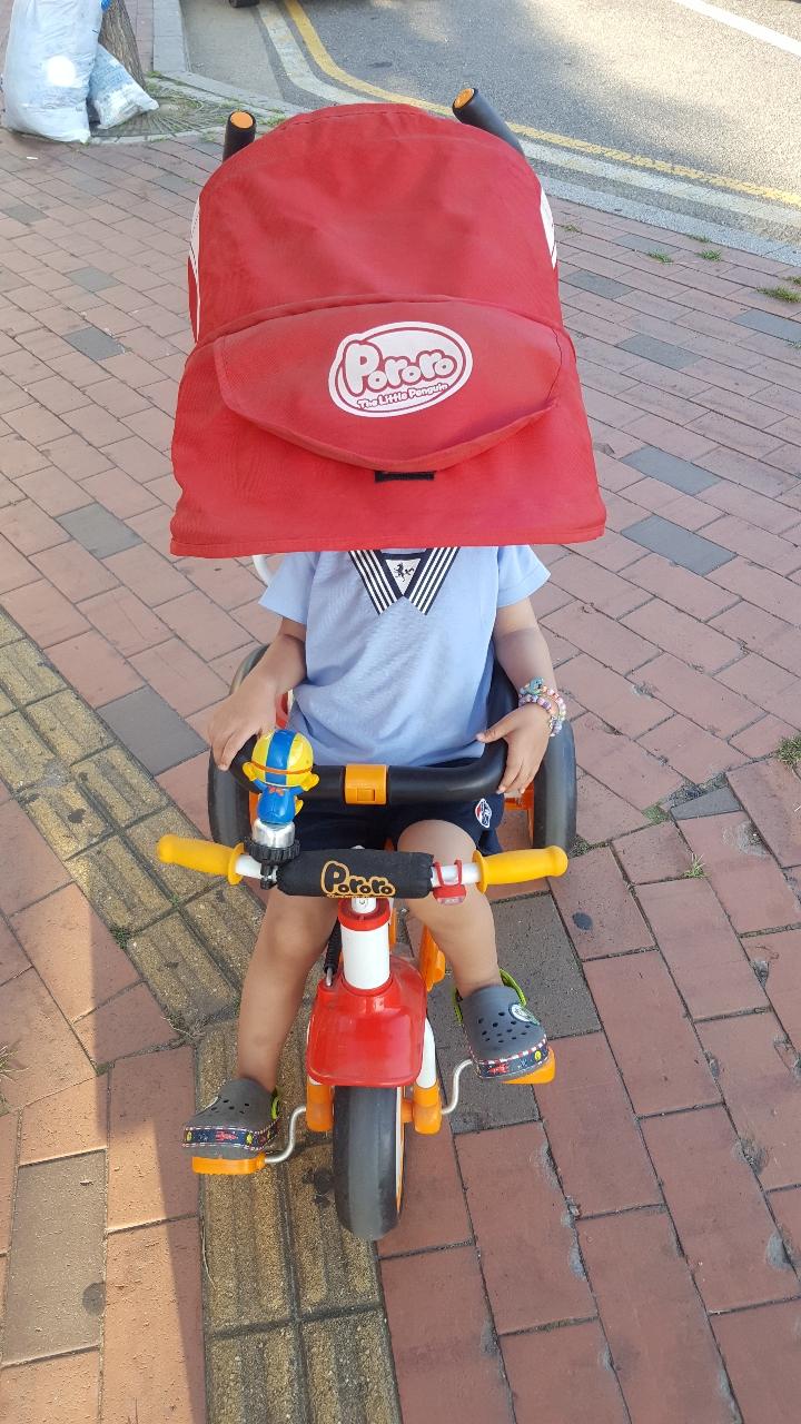 뽀로로자전거 세발자전거 유아자전거 자전거