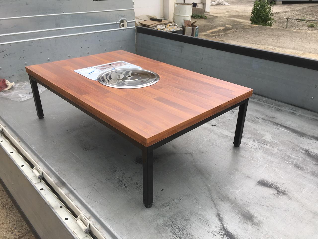 가정용 불판테이블,불판식탁,불판테이블,테이블 판매합니다.