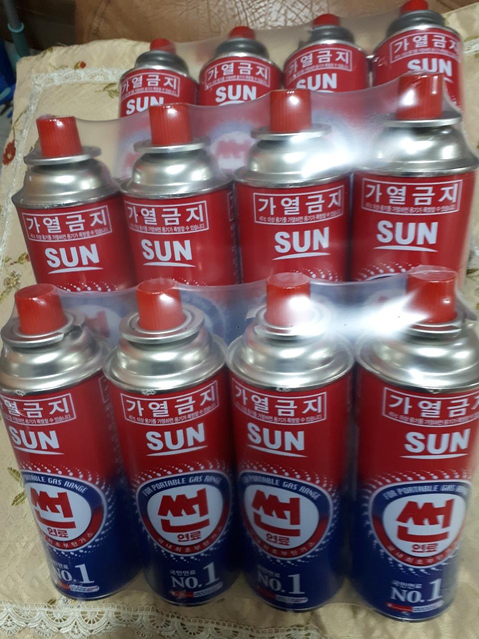 썬연료부탄12개 1만원