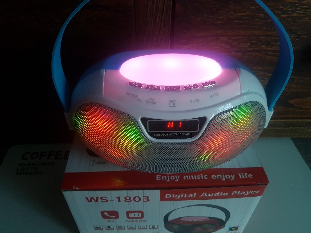 새거- 라디오, LED 블루투스 스피커