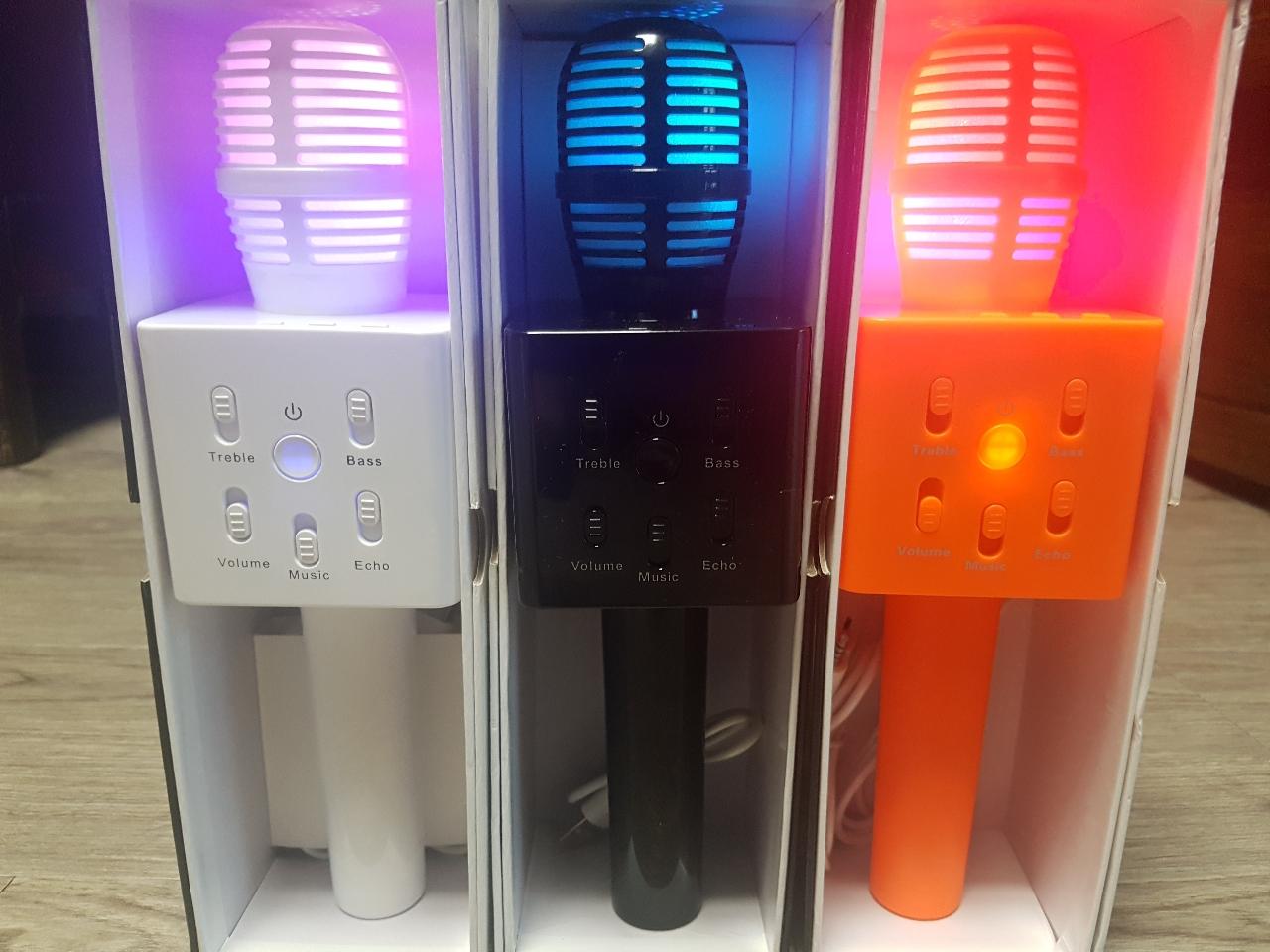 LED 블루투스 마이크