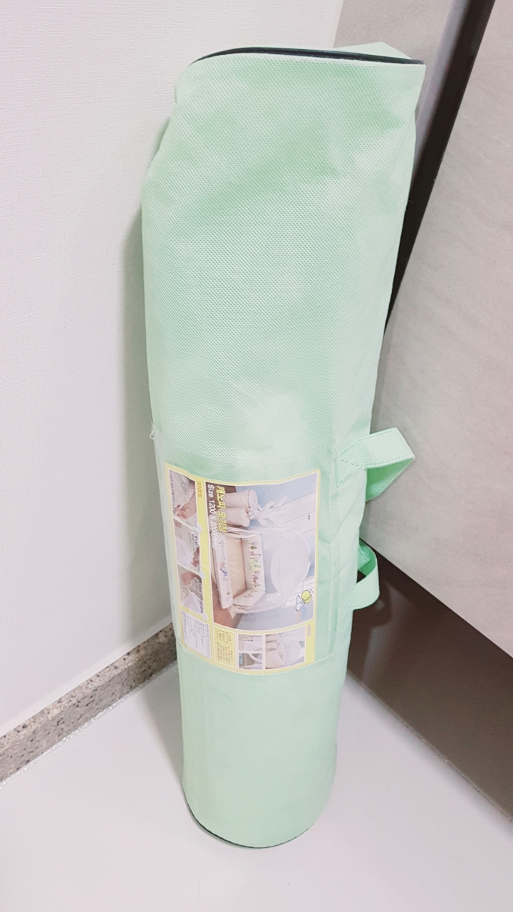 범퍼침대 모기장(캐노피 모기장)