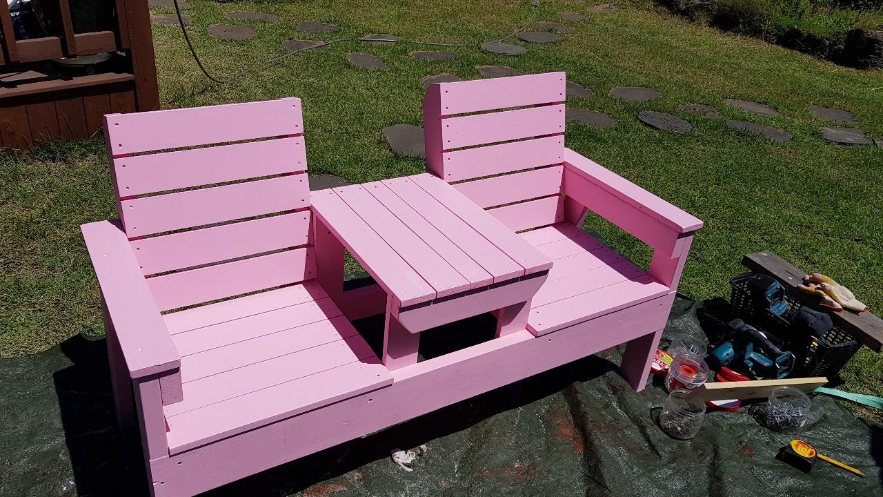 야외피크닉테이블, 그네의자, 2인용 티테이블, 변신테이블, 평상 및 외부데크시공