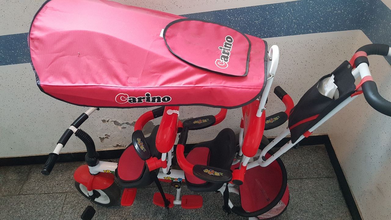 2인용 유아자전거