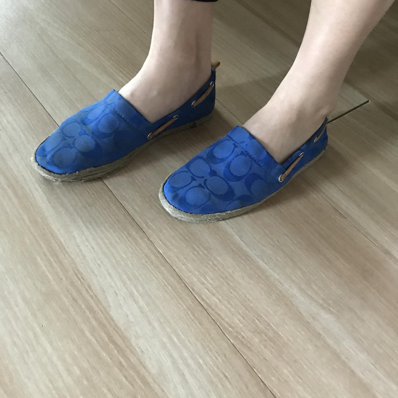 코치 신발