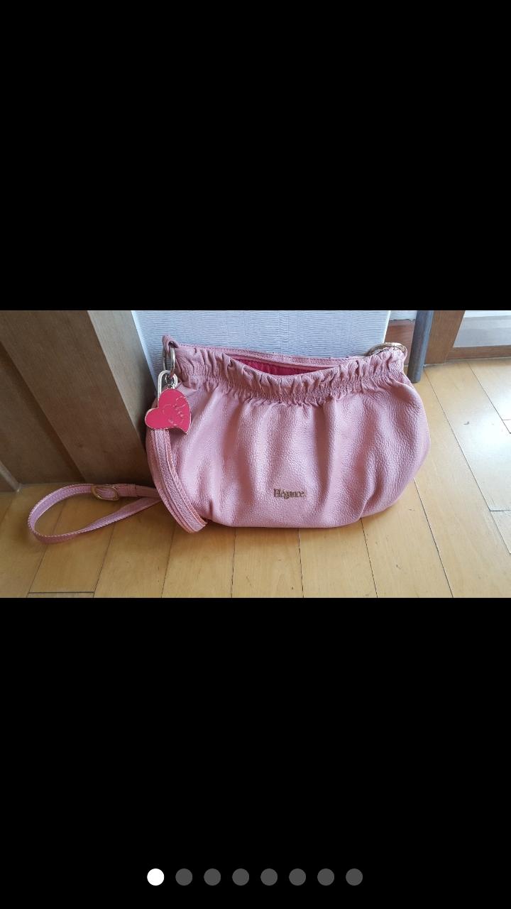 ✔정리중✔  엘레강스 핑크 크로스백 여성 가방 32x 20 x8.5(바닥)