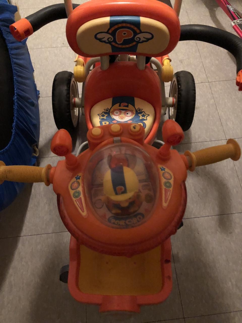 유아 뽀로로 자전거 세발자전거