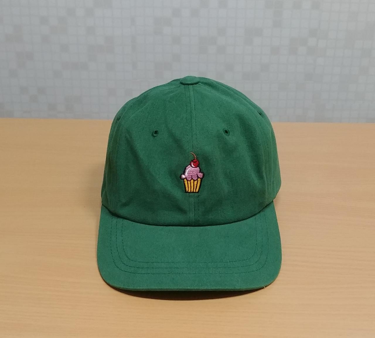 남녀 공용. 그린색 모자