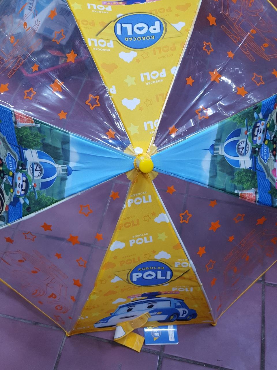 폴리 아동우산 미개봉새제품입니다
