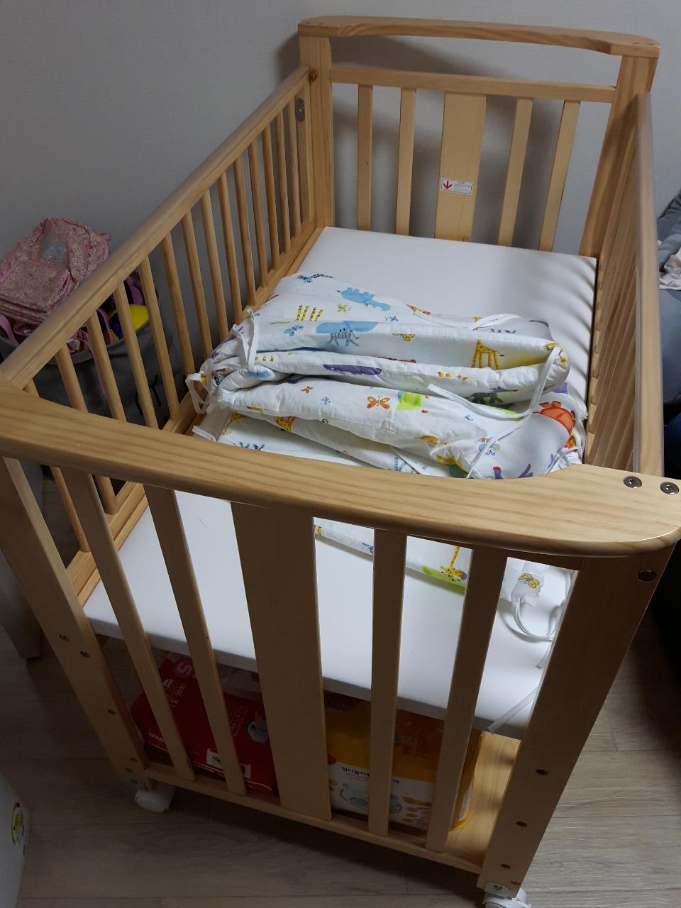 보니 유아 아기 침대 팝니다
