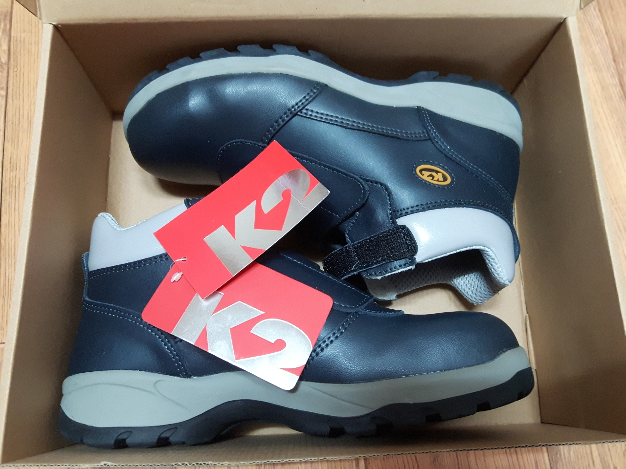 K2 찍찍이형 안전화~^^