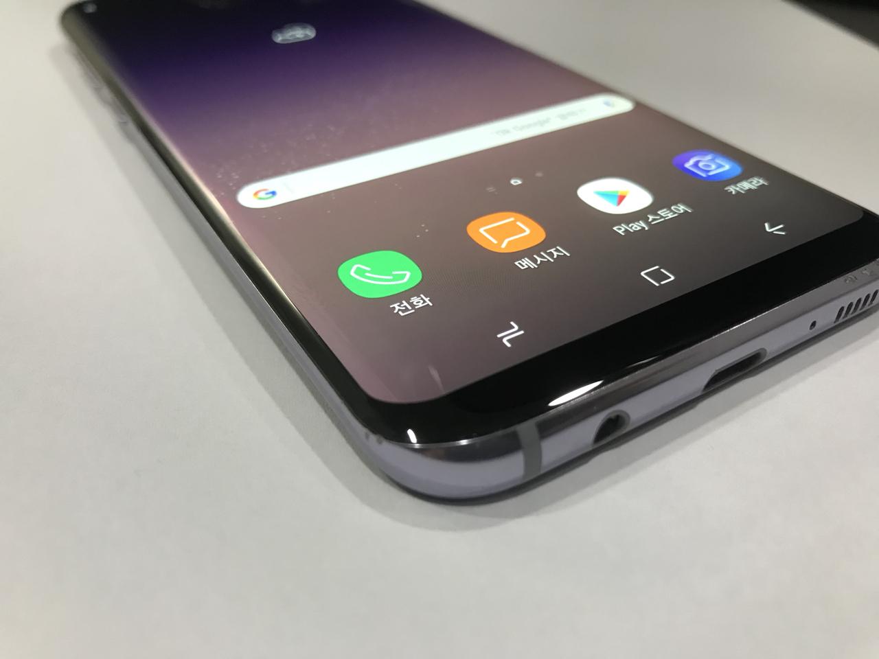 삼성 갤럭시S8플러스 64기가  오키드그레이 진상없음팝니다