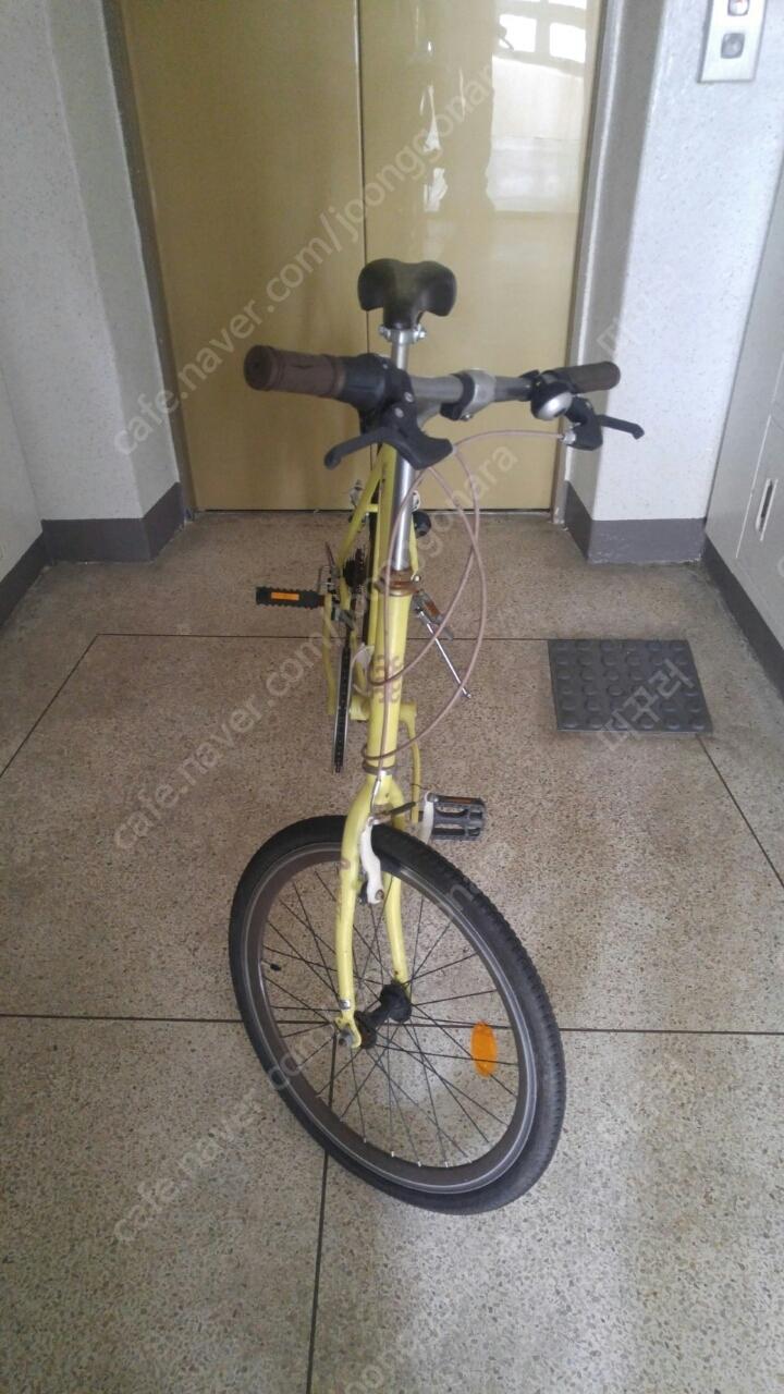 삼천리자전거 파스텔 20인치 7단 하이브리드 팔아요