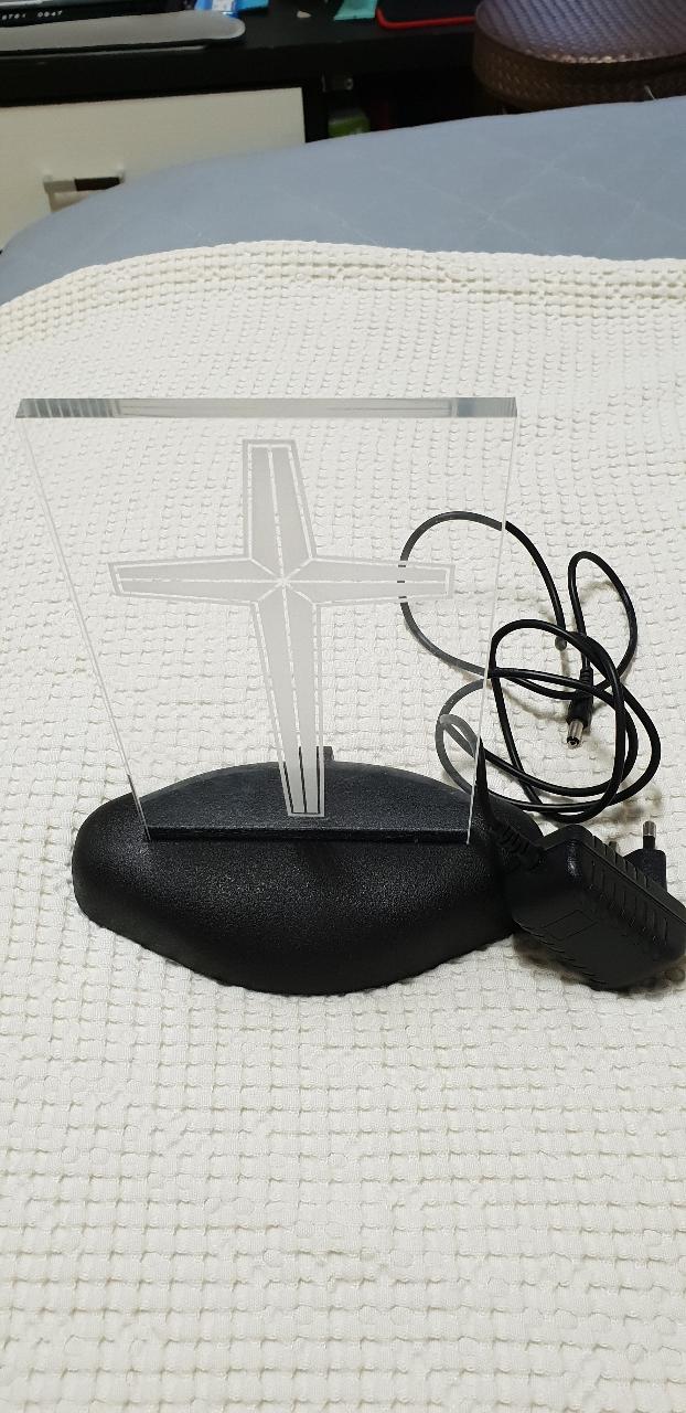 십자가 무드등