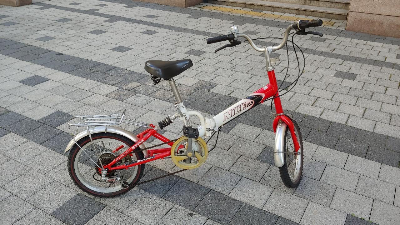 삼천리 자전거 판매(16인치 21단 접이식)