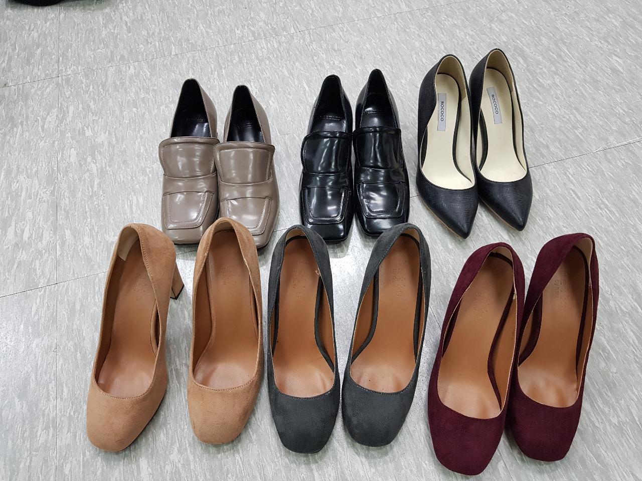 쇼핑몰 착화용 신발 240