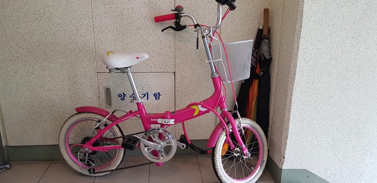 여아 자전거 일명 지아자전거