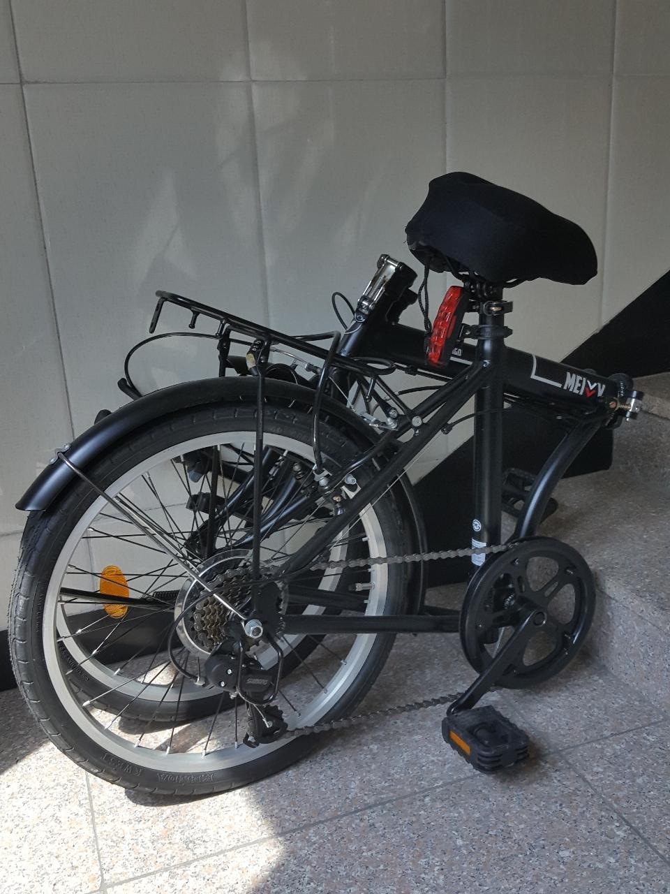 접이식 자전거 팔아요!