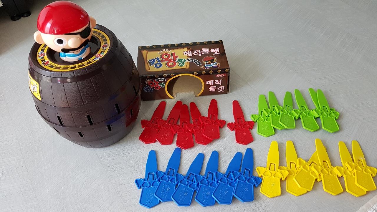 유아 장난감/  아동장난감 / 해적룰렛
