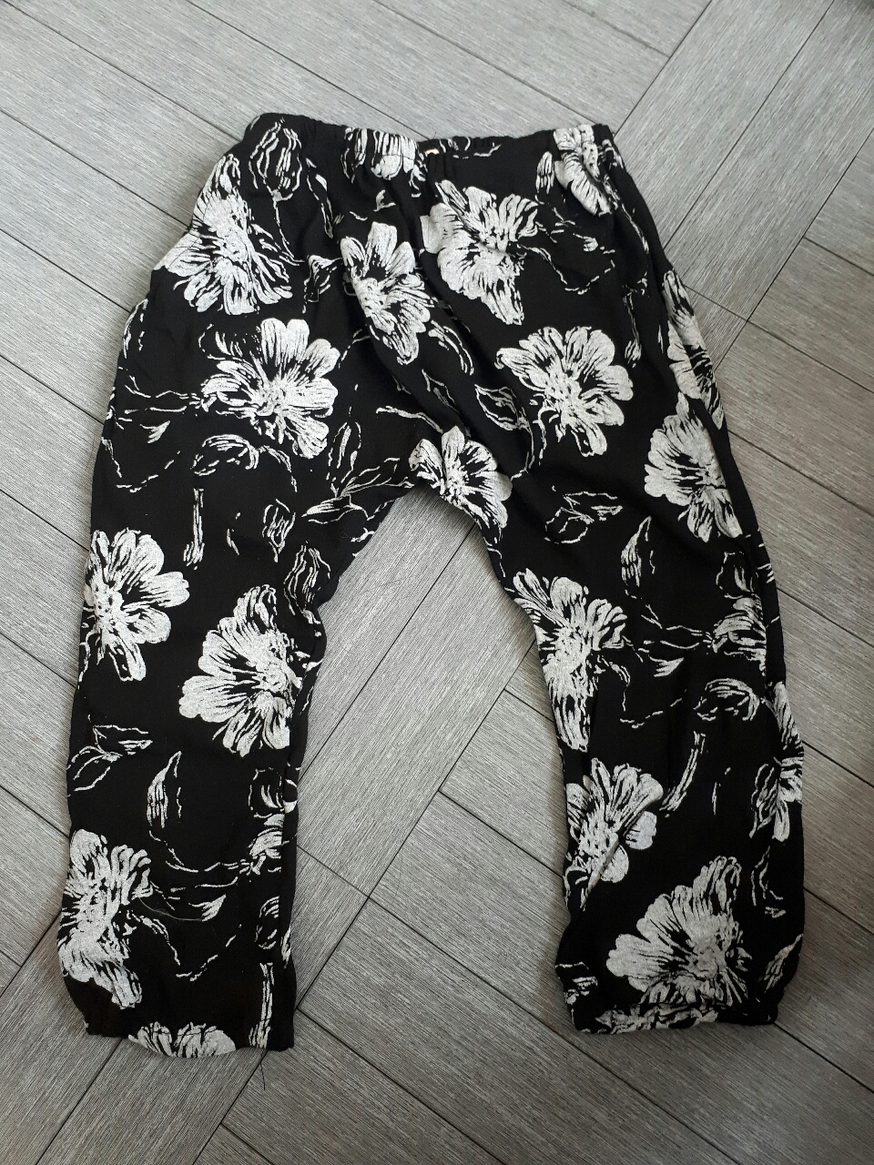 꽃배기바지 (새)XL