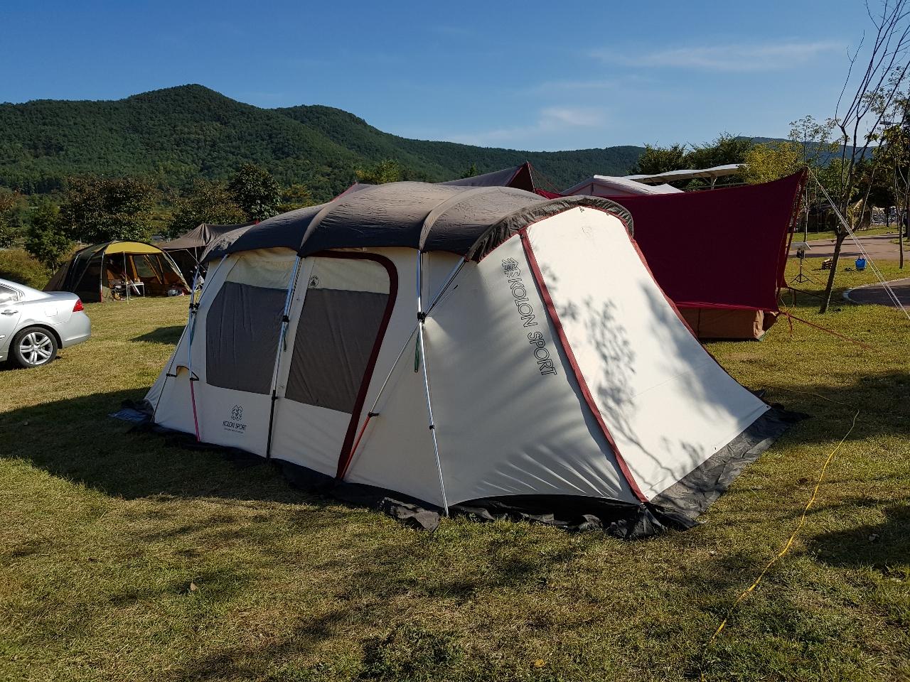 코오롱 슈퍼팰리스C 텐트 판매합니다