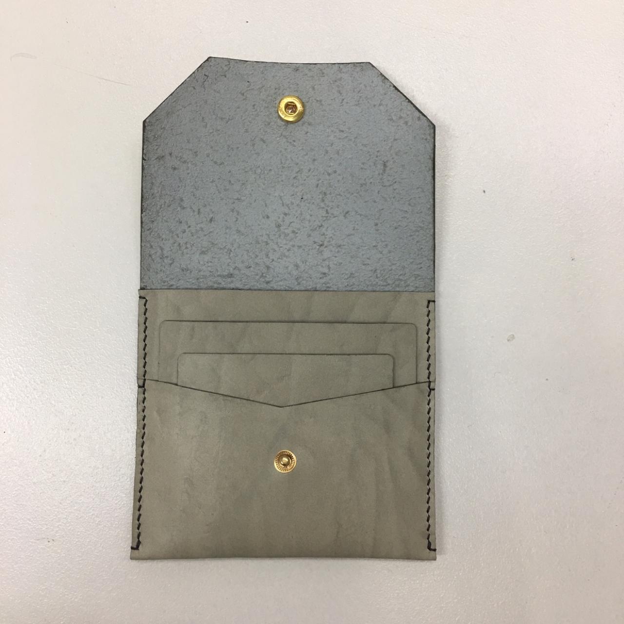 가죽공예 일일체험수업 : 카드 및 동전 겸용 지갑