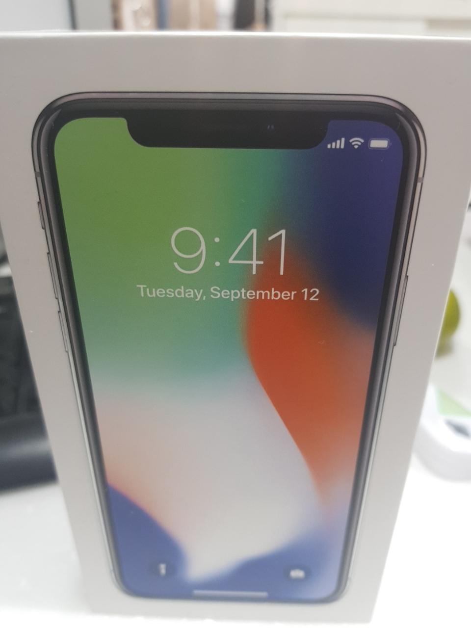 아이폰X256(실버)