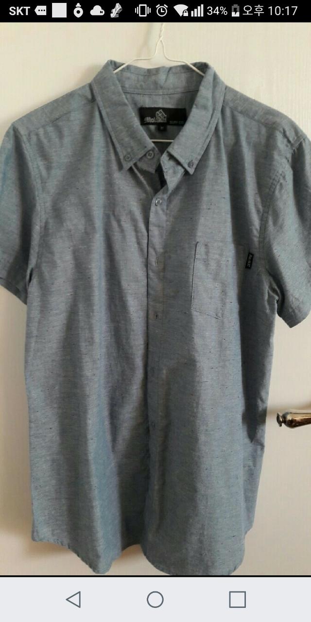 남자청면 셔츠 새상품(95-100)