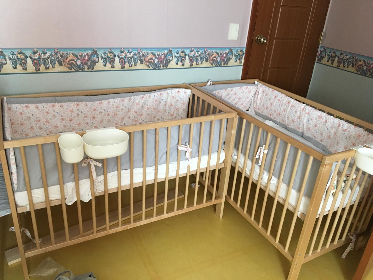 이케아 굴리베르 아기침대 팝니다 (쌍둥이 2개 있음)