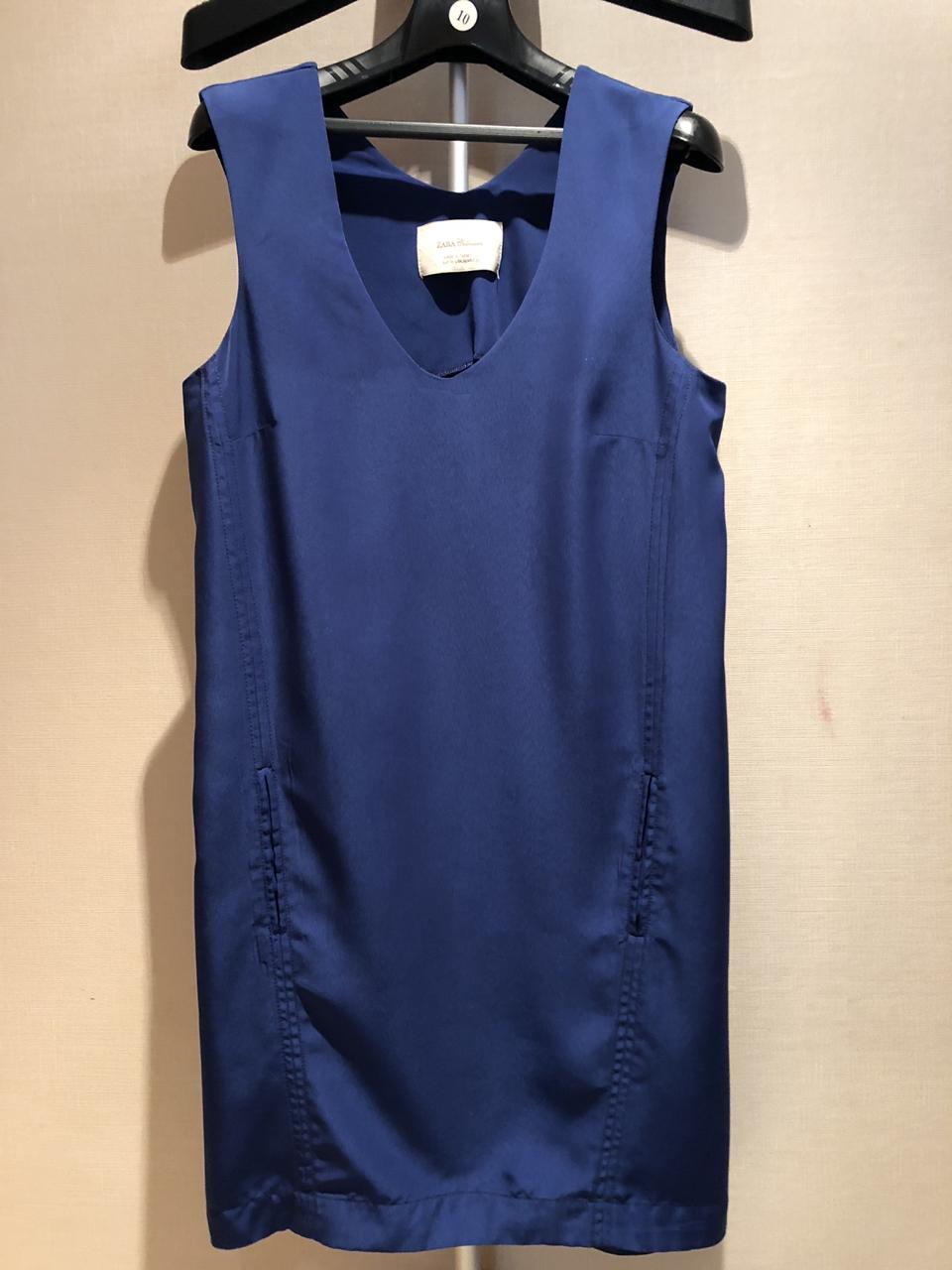 [ZARA] 블루 원피스 size 55-가격 인하