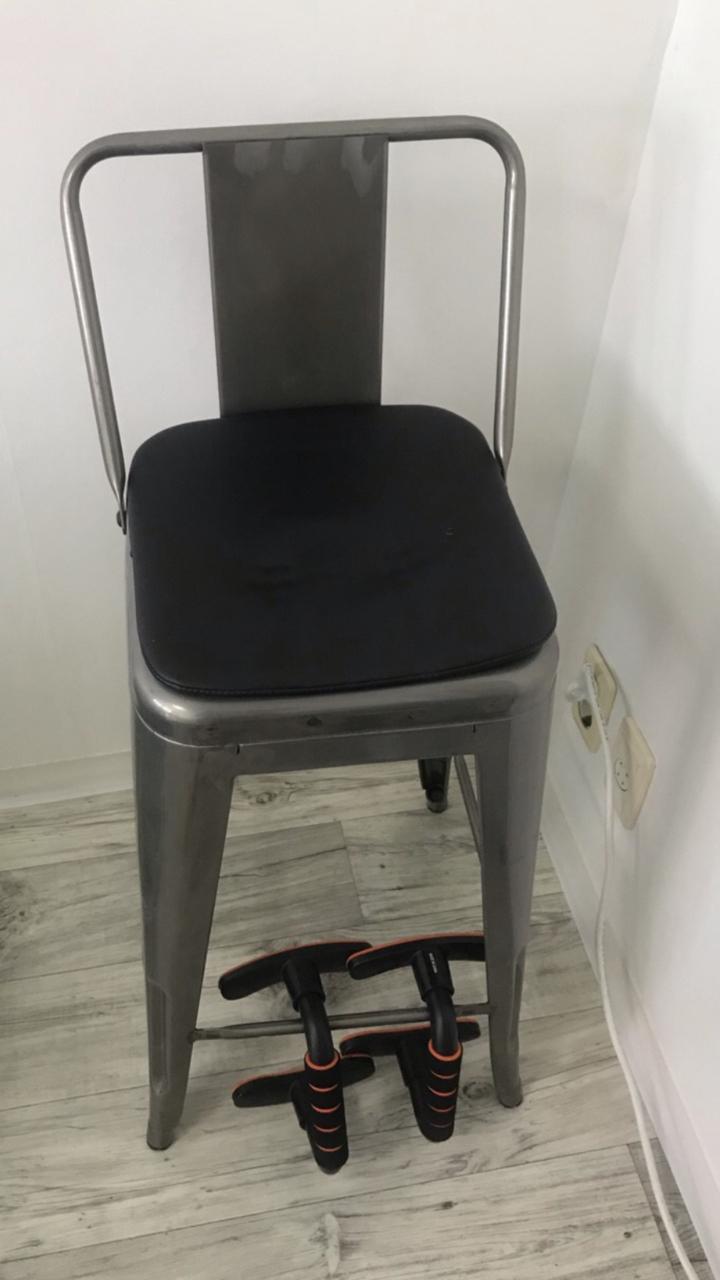 아일랜드식탁의자(홈바의자) 철제의자 식탁의자