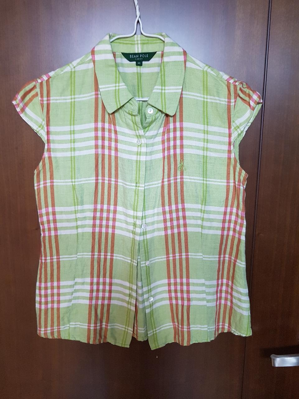 빈폴 레이디 마혼방 민소매 셔츠 90사이즈