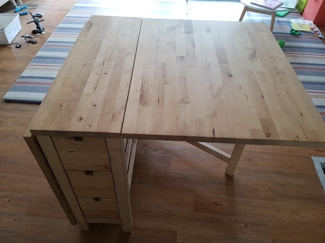 이케아 접이식 테이블