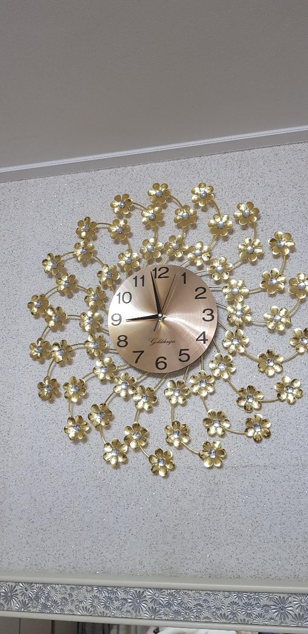 골드 인테러어 시계