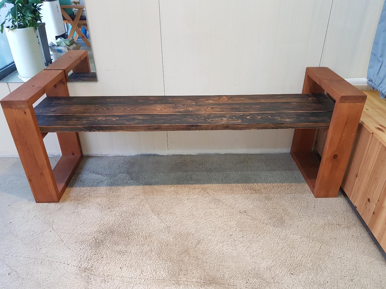 인테리어용  벤치의자 (집,사무실,네일샾,미용실 등등 )