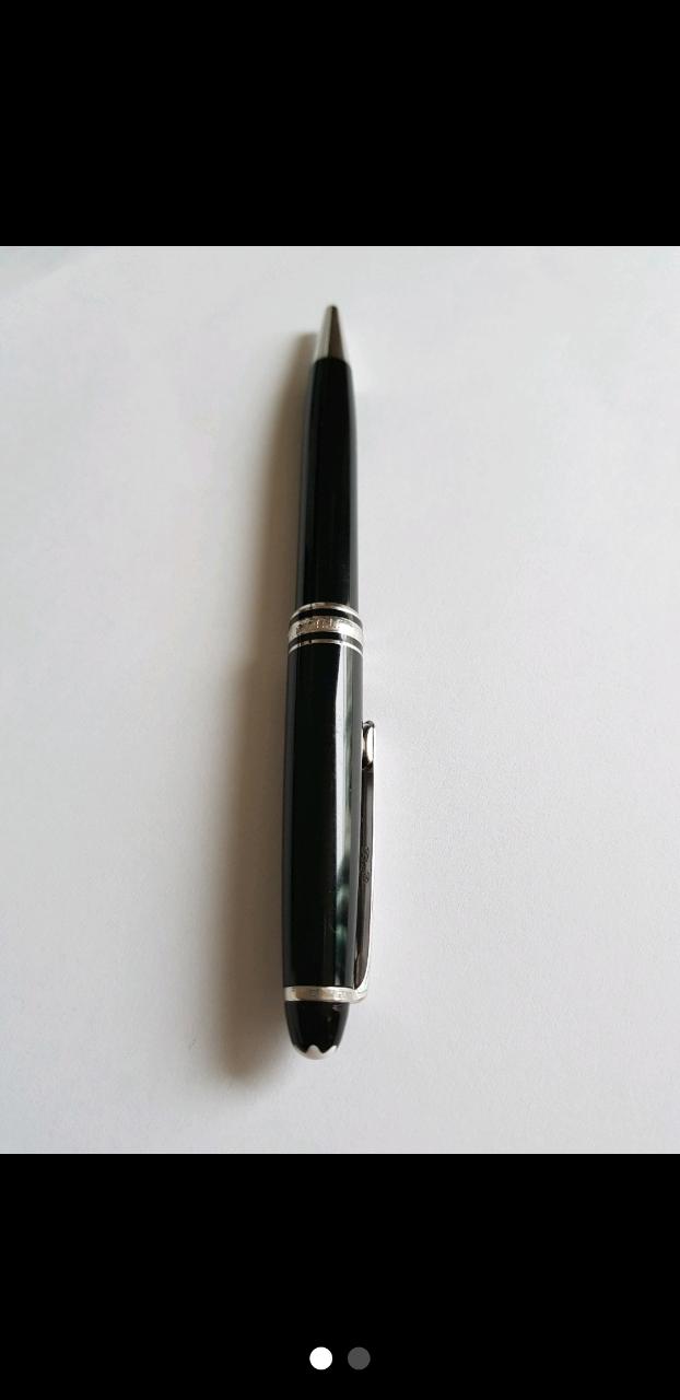 몽블랑 마이스터스튁 플레티늄 볼펜