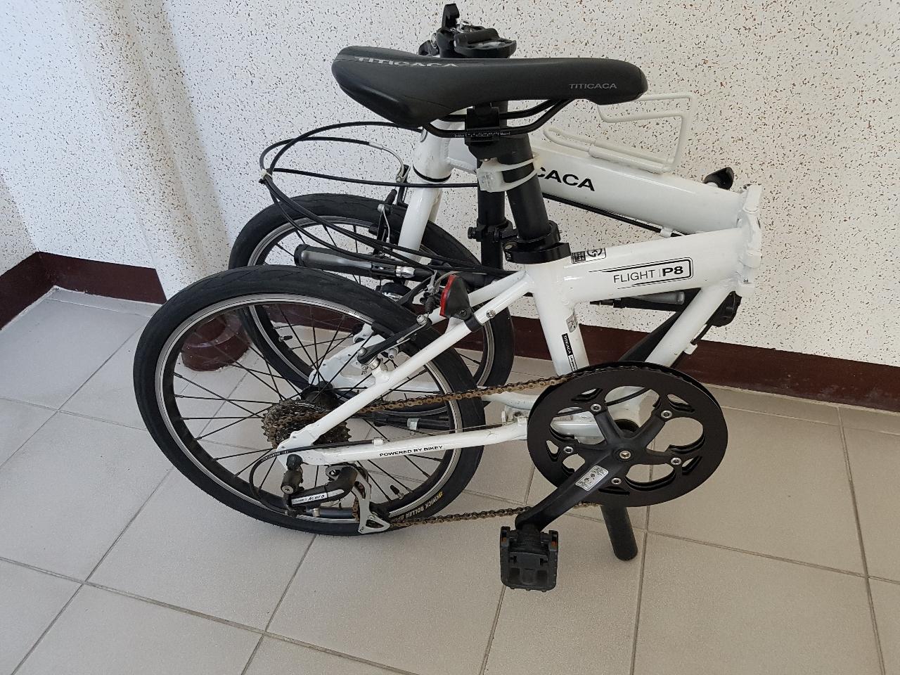 접이식 자전거 판매합니다~~~