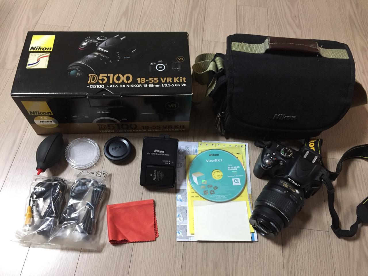 니콘 D5100카메라