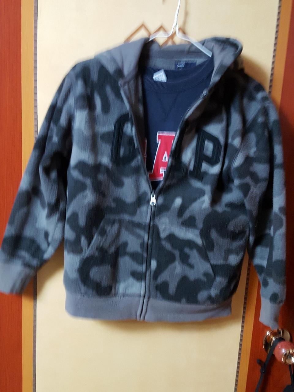 GAP 티셔츠+GAP 후드 자켓 두벌