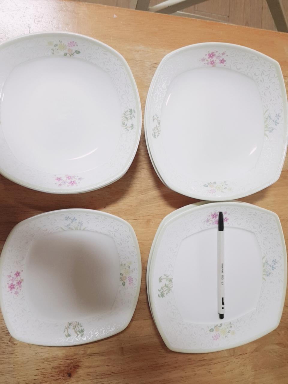 한국도자기 접시