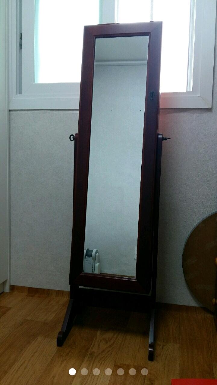 악세서리함  전신거울 (가로37세로146센티)가격내림