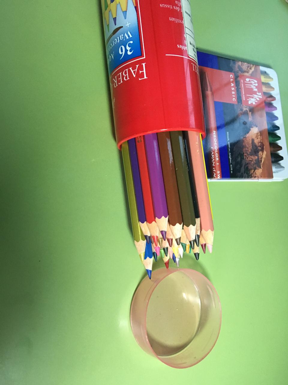 스위스산 까렌다쉬 색연필+독일 파버카스텔 색연필 판매