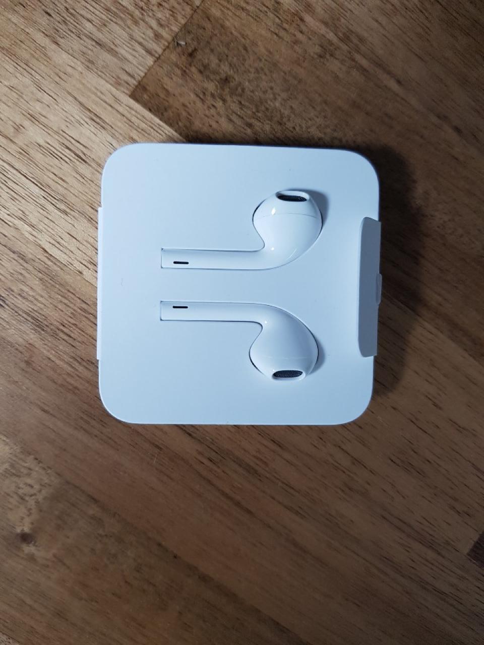 정품 아이폰 8핀용 이어폰